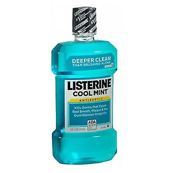 Listerine Antiseptic Mouthwash, COOLMINT 33.8 oz