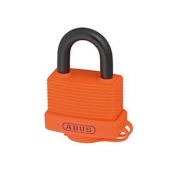 ABUS 70AL/45mm candado de aluminio naranja con llave igual 6401 ABUKA49974