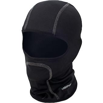 Trespass Adults Moulder Lightweight Outdoor Skiing Skiing Balaclava - Schwarz