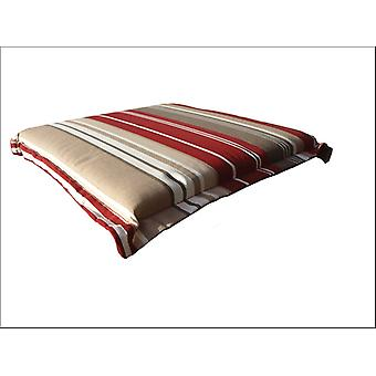 Home Hardware Outdoor Valanced Seat Pad x 2 Red Stripe