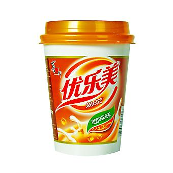 Instant Milk Tea Drink - Coffee Flavor With Coconut Jelly 80g
