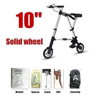 """Ultra Light 8""""/10"""" دراجة صغيرة قابلة للطي الدراجة، مترو الأنفاق المحمولة في الهواء الطلق،"""