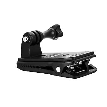 Sametop backpack strap mount quick clip mount compatible with gopro hero 8, 7, 6, 5, 4, session, 3+,