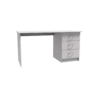 "Desktop ""Laury"" - 121 x 55 x 74 cm - Blanc"