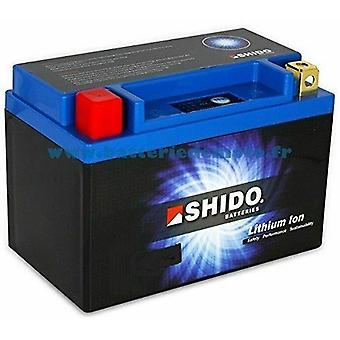 Shido Motorcycle Lithium Iron Battery LiFePO4 12V 7Ah 1 4kg 175x87x155mm