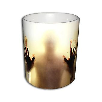 Walking Dead Mug - The Walking Dead Zombier Keramik Varme Følsomme Color Skiftende Kaffe Tea Mug - Great Gadget!