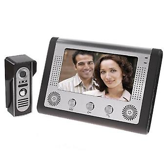 Visual Intercom Doorbell Tft Color Lcd, Wired Video Door Phone System Indoor