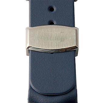 Marine Master 22mm * 20mm guma vafle potápěčský řemínek hodinky kapela kovový držák