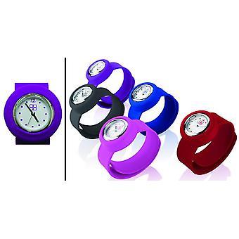 Doubledigit watch mini slappy violet purple ddigit00048