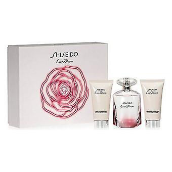 Women's Parfum Set Ever Bloom Shiseido EDP (3 buc)