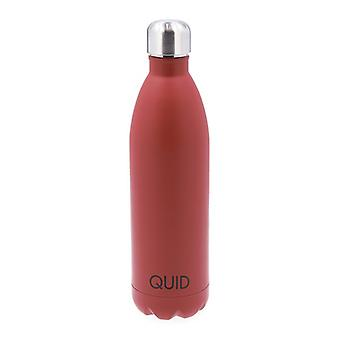 Thermal Bottle Quid Arizona Burgundy Stainless steel 0