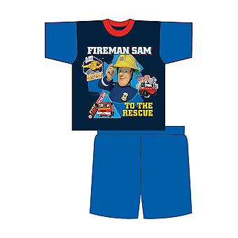 Fireman Sam Boys Short Pyjama Set
