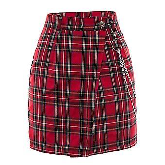 חצאיות מיני משובצות