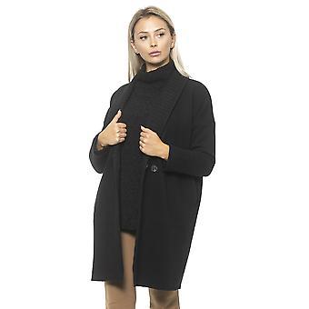 Black Coat Alpha Studio Women