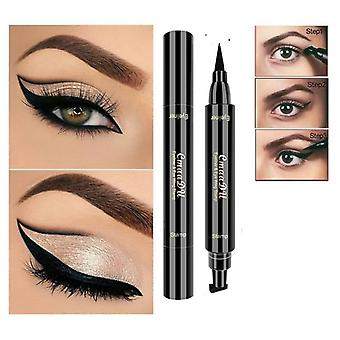 Double-headed Seal Black Stamp Waterproof Seal Eyeliner