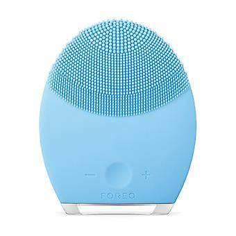 LUNA 2 Anti-Aging Cleansing Brush for Combination Skin 1 unit (Blue)