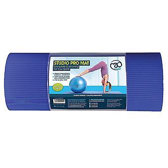 Fitness-Mad Studio Pro Deluxe Mat 15mm - Sininen