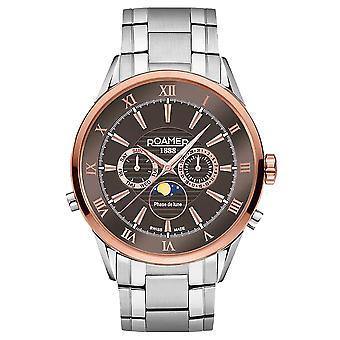 Roamer 508821 47 53 50 Superior Moonphase watch 43 mm