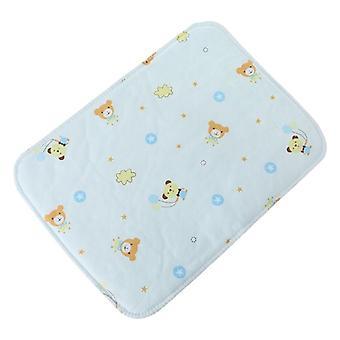 Babybyte pad återanvändbar vattentät barnvagn blöja vikbar mjuk matta