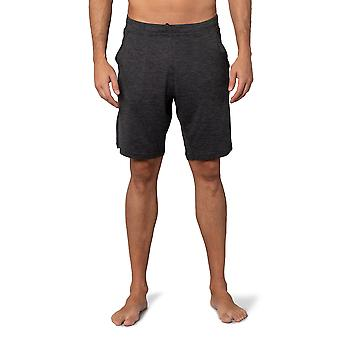 Mens Pajama Bottom Lounge Wear Shorts with Pockets