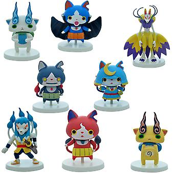 8szt Pokemon Monster Anime Figure Toy