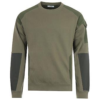 Maharishi Riverine 2.0 Tech Organic Cotton Sweatshirt - Olive