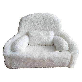 4pcs recién nacido fotografía props bebé posando sofá almohada set