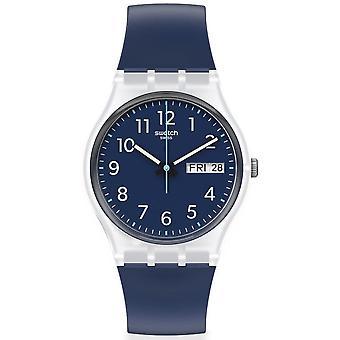 Relógio ge725 enxágue repetido relógio de silicone da Marinha