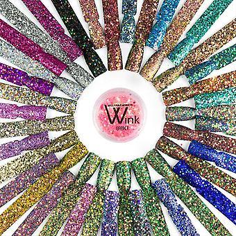 Nagelglitter - Wink Effect - Hexagon - 33