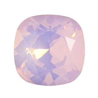 Swarovski Crystal, #4470 tyyny Fancy Stone 12mm, 1 osa, Ruusuvesi Opal