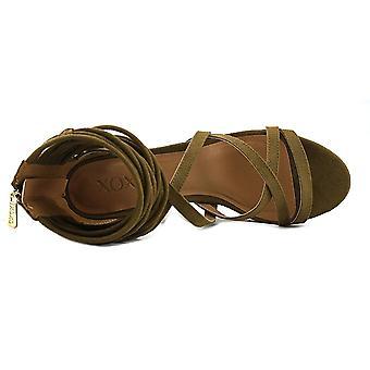 Xoxo Womens Elle Fabric Open Toe Casual Strappy Sandals