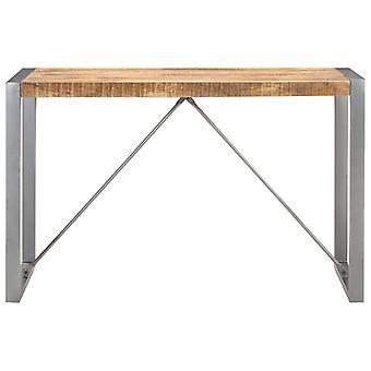 vidaXL tavolo da pranzo 120x60x75 cm Legno massello di mango grezzo