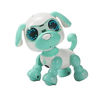 Green children's smart pet dog induction touch electric toy az5074