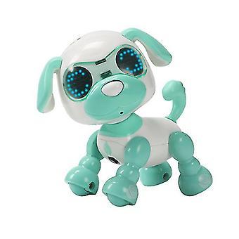 Grønn barnas smart kjæledyr hund induksjon touch elektrisk leketøy az5074