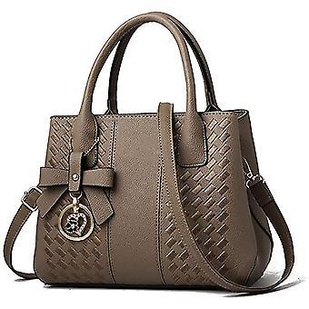 Khaki purses hbags for women fashion ladies leather top hle dt6690