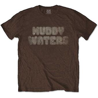 Muddy Waters - Electric Mud Vintage Camiseta X-Grande Masculino - Marrom