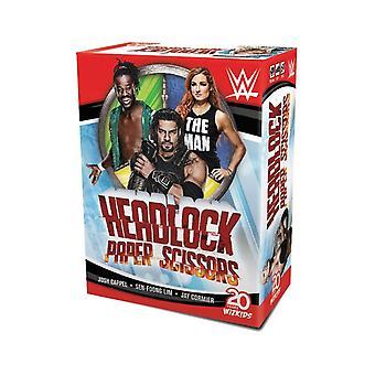 WWE:ヘッドロック、紙、はさみカードゲーム