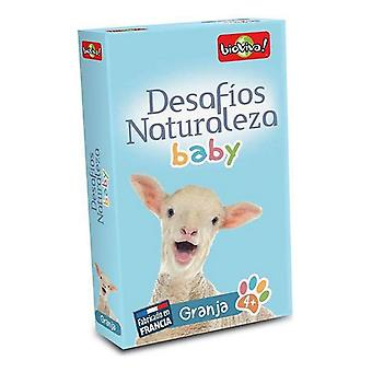Board game Desafíos Naturaleza Granja Baby Asmodee (ES)