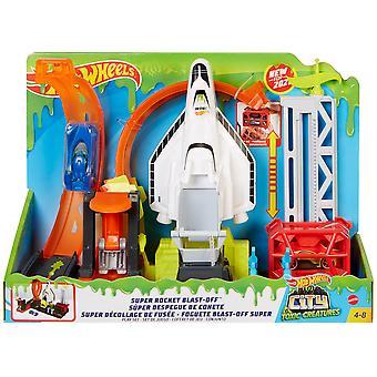 Kuumat pyörät - City Super Space Shuttle Playset