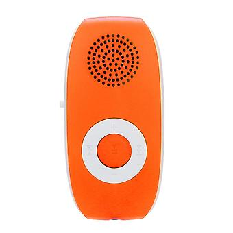 Mp3 Player Portable, Clip Music Player Support, Sd Tf Card, Built-in Speaker,