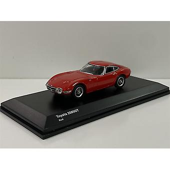 Toyota 2000 GT Red 1:64 Scale Kyosho 6502R