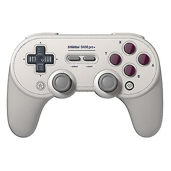 Gamepad wireless game controller for SN30 PRO+(Gray)