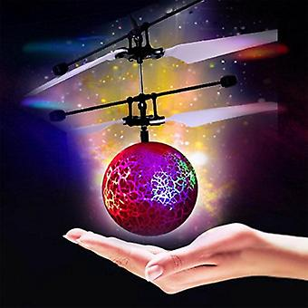 Infrared Induction Drone, Flying Flash, Led Lighting Ball Helicopter, Child Kid