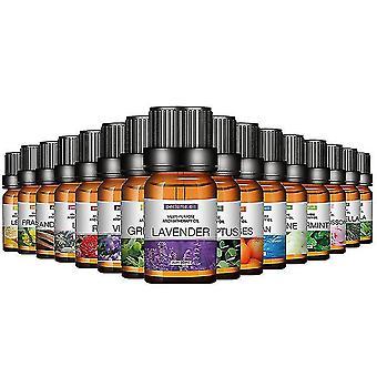 10 ml vannløselig essensielle oljer luftfrisker smakstilsetning for luftfukter aromaterapi parfum