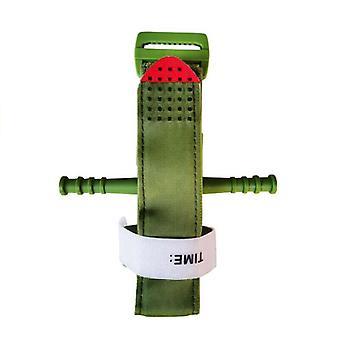 (Ejército Verde) Una mano de emergencia torniquete de combate aplicación de primeros auxilios entregados herramienta al aire libre