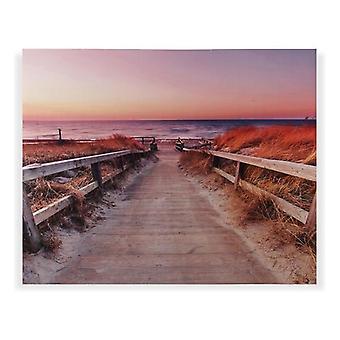 Plank Strand Kanvas Trä MDF (3 x 80 x 100 cm)