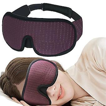 3D blocking light sleeping eye mask soft padded travel shade cover rest relax sleeping blindfold eye cover sleep mask eyepatch