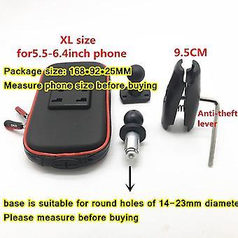 Support de téléphone Support de montage de tige d'encre Support de navigation de moto