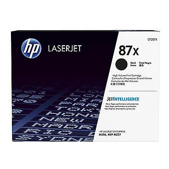 HP 87X Original Black LaserJet High Capacity Toner Cartridge, 18000 pages, Sva
