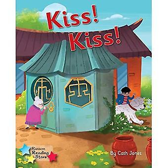 Kiss! Kiss!: Phonics Phase 3 (Reading Stars Phonics)